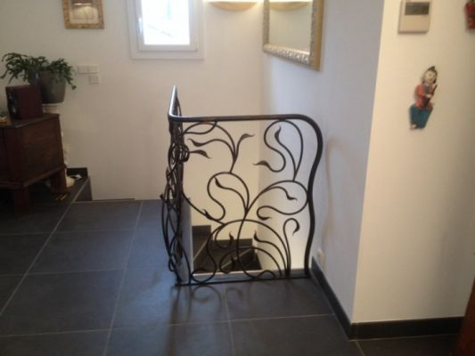 cr ation rampes et garde corps contemporains aubagne. Black Bedroom Furniture Sets. Home Design Ideas